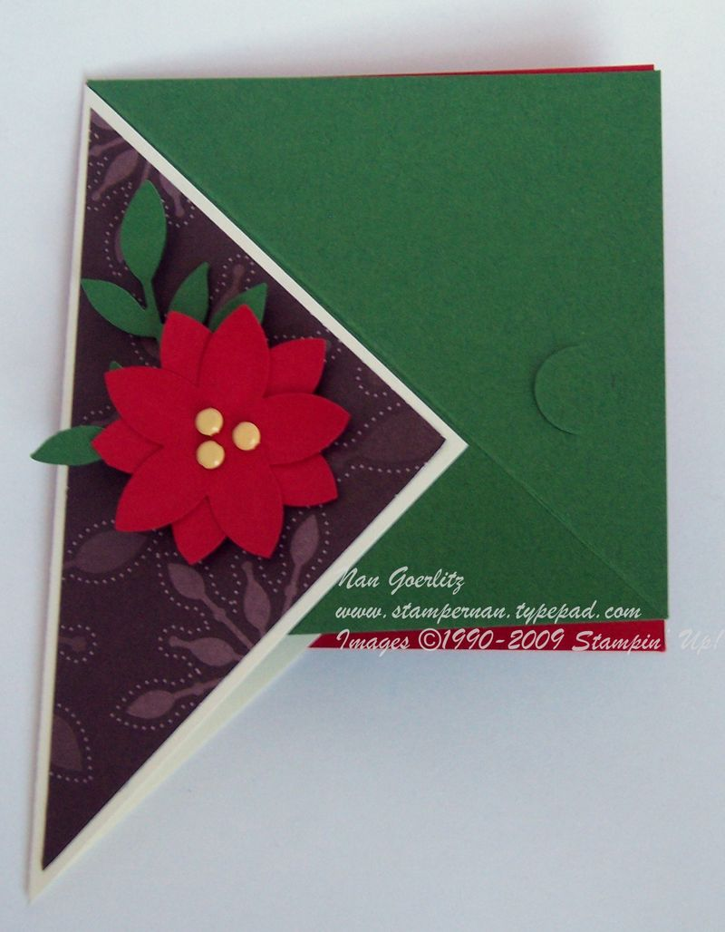 Triangle Holiday card flat