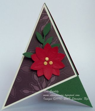 Triangle Holiday card