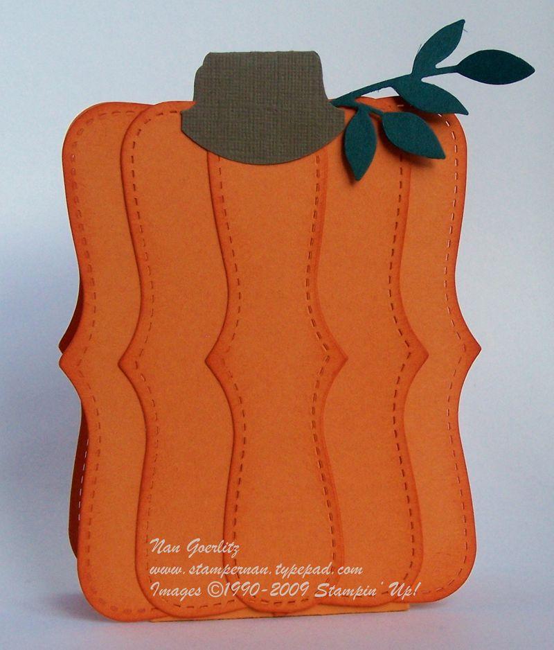 Pumpkin Top Note box
