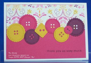 Buttons card